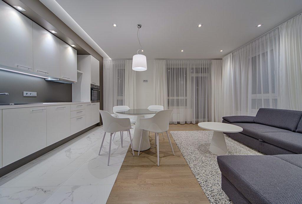 modern home interior living room