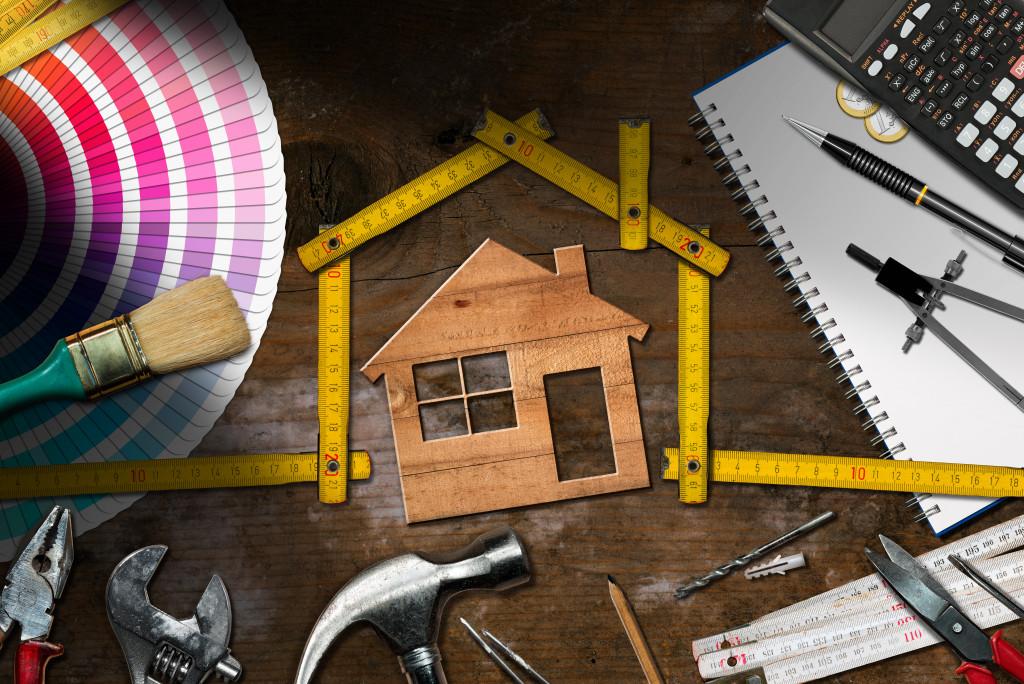 home renovation concept