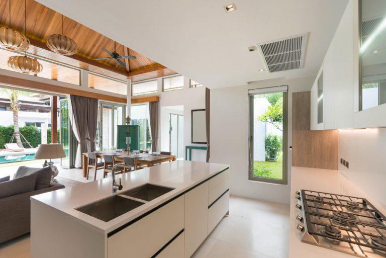 stylish interior of house