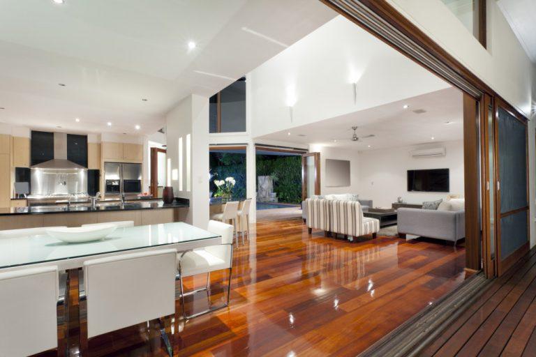 modern interior of house